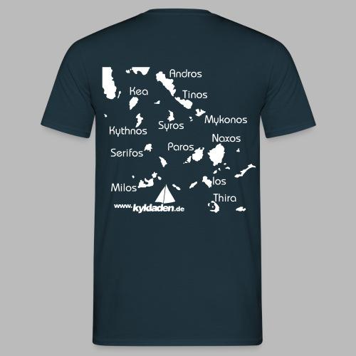 Kykladen Griechenland Crewshirt - Männer T-Shirt