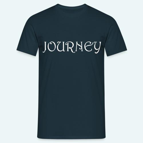journey logo - Men's T-Shirt