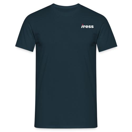 IRESS_Logo_SPOT - Men's T-Shirt