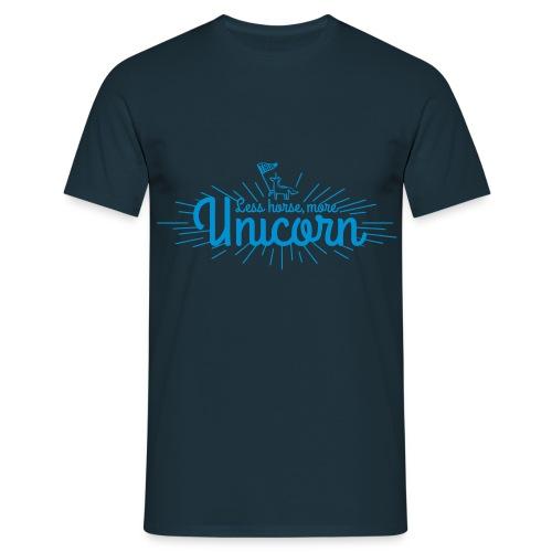 More Unicorn - Herre-T-shirt