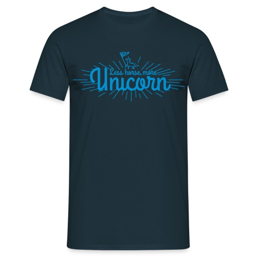 More Unicorn - Herre-T-shirt
