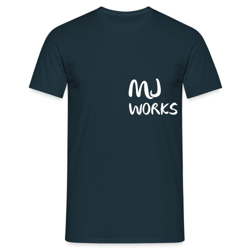 Works Logo text - Männer T-Shirt