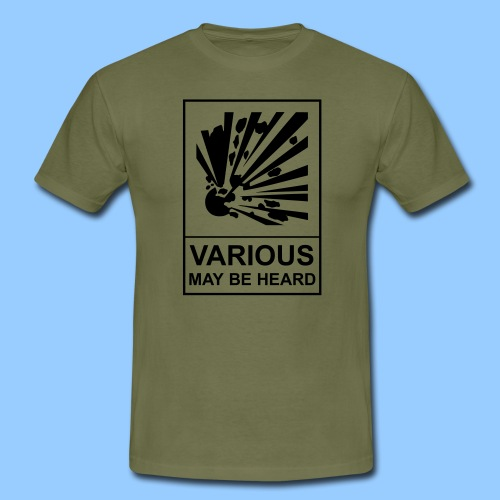 VariousExplosions (1 colour) - Men's T-Shirt