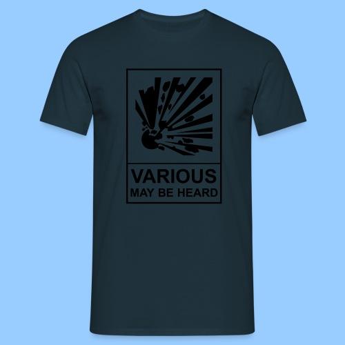 VariousExplosions (1 colour) - Men's T-Shirt