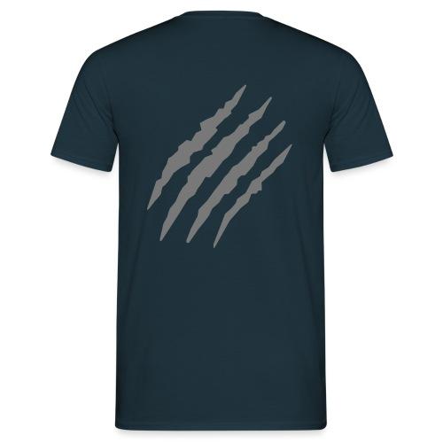wounded back - Männer T-Shirt