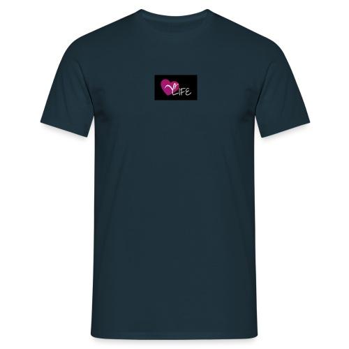 YR LIFE NOIR - T-shirt Homme