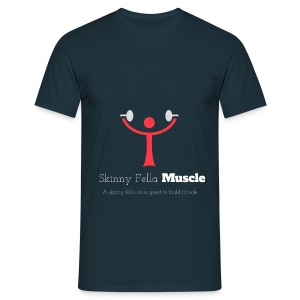 Logo T-Shirt - Navy - Men's T-Shirt