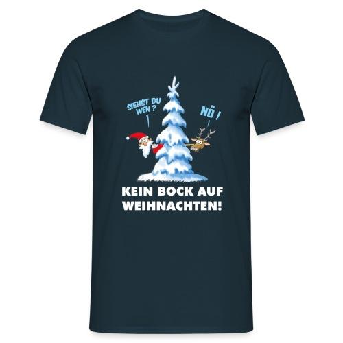 Kein Bock auf Weihnachtern - Männer T-Shirt
