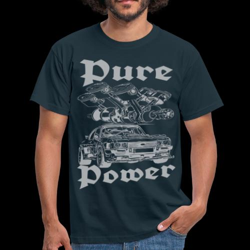 Pure Power V6 Grau - Männer T-Shirt