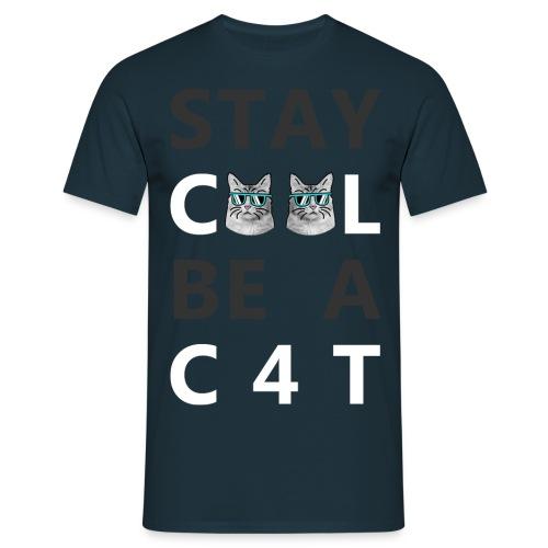 STAY C00L White - Männer T-Shirt