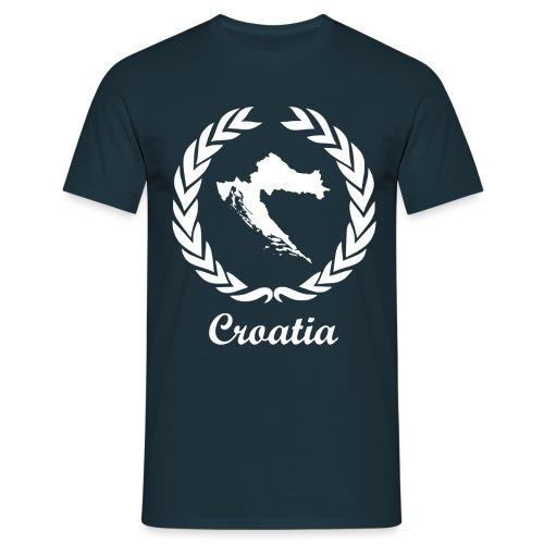 Connect ExYu Croatia White Edition - Männer T-Shirt