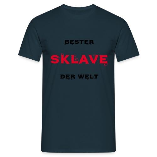 Bester Sklave der Welt - Männer T-Shirt