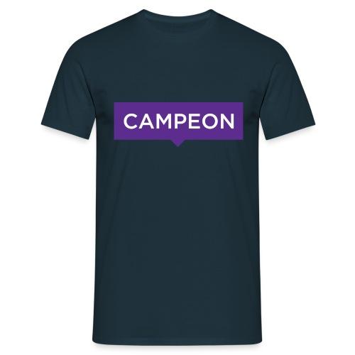 KlassiskCampeon - T-shirt herr