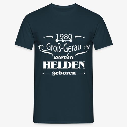 Groß Gerau 1980 - Männer T-Shirt