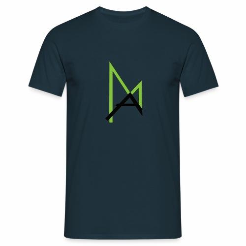 AmosLogo - Männer T-Shirt