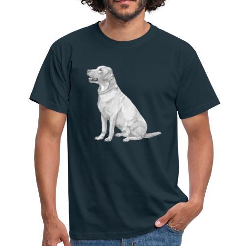 labrador Retriever Gul - Herre-T-shirt