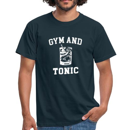 GYM AND TONIC - Men's T-Shirt