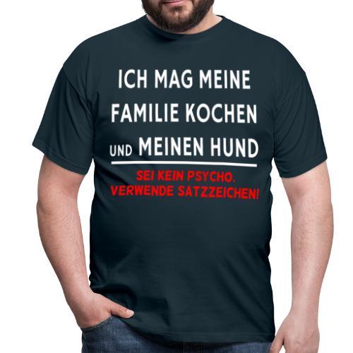 Satzzeichen - Männer T-Shirt