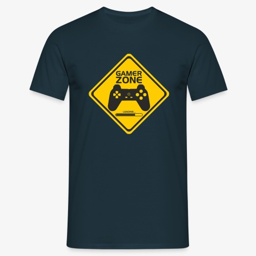 AMRS ShirtDesigns Game Zone - T-shirt Homme