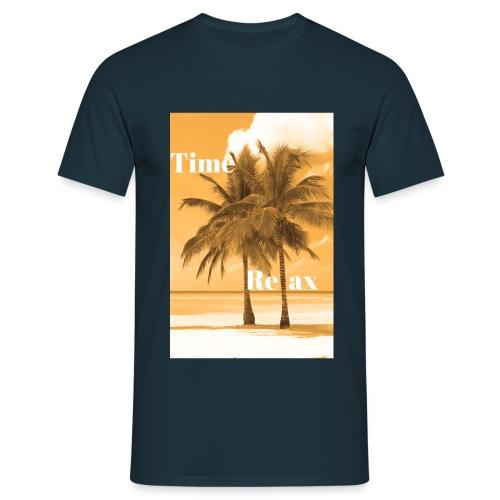 Time to Relax - Männer T-Shirt