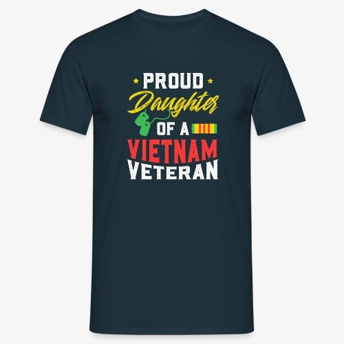 daughter of a vietnam veteran - Männer T-Shirt