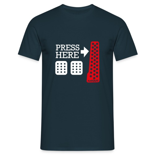 Press Here - T-shirt Homme