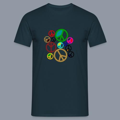 Peace, Peace, Peace - Männer T-Shirt
