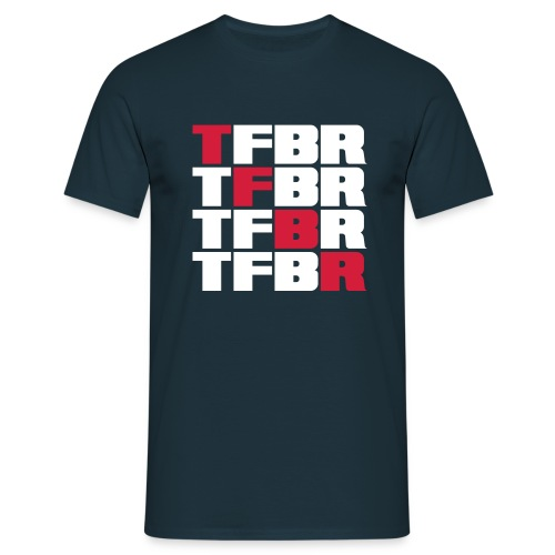 4x TFBR - Männer T-Shirt