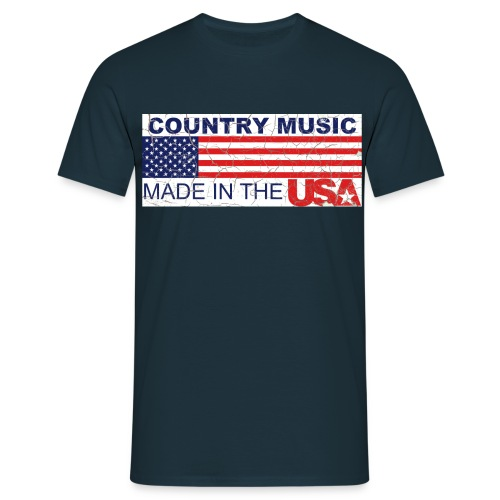 Shirt Country USA - Männer T-Shirt