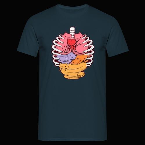 El cuerpo humano por dentro - Camiseta hombre