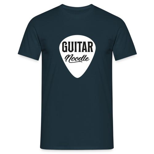 Guitar Noodle Plectrum Logo - Men's T-Shirt