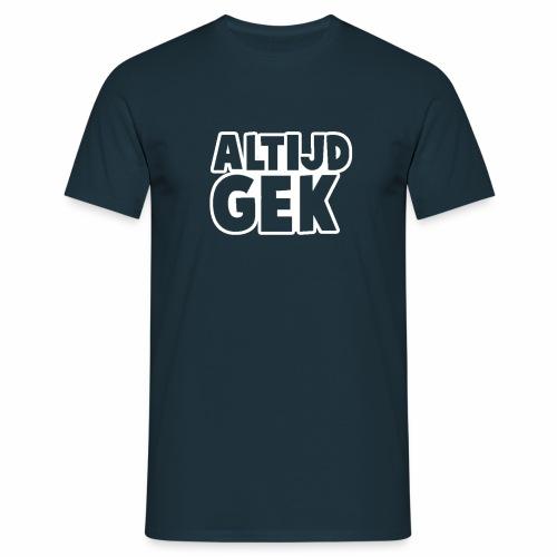 Outline AltijdGek - Mannen T-shirt