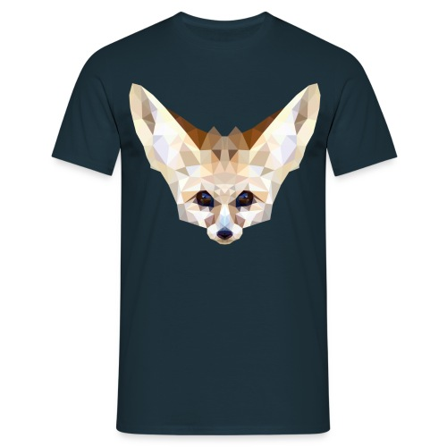 Fennec low poly - T-shirt Homme