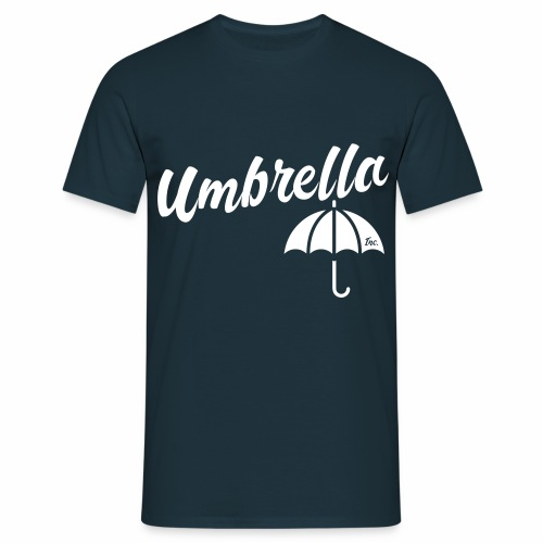 Umbrella Inc. Tipo sobre logo - Camiseta hombre