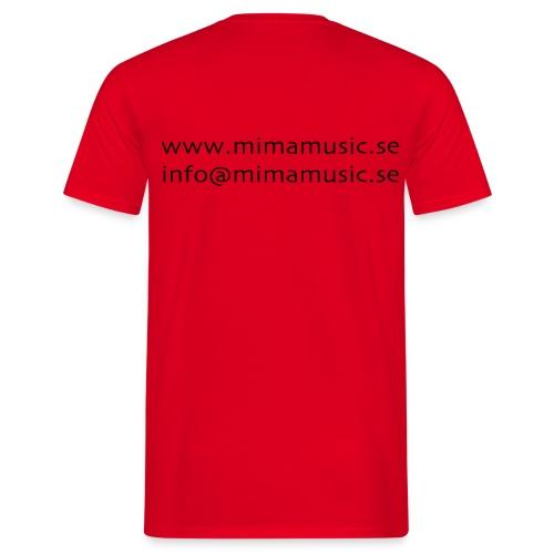 mima music - T-shirt herr