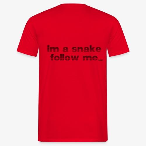 snake #1 - Männer T-Shirt