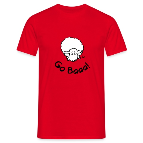 ¡Las ovejas van baaa! - Camiseta hombre