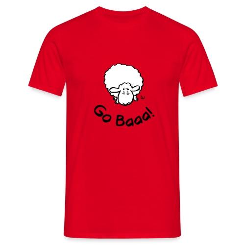 Sauer går Baaa! - T-skjorte for menn