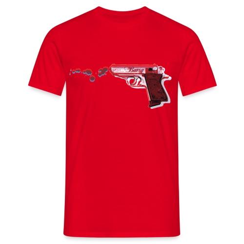 3D GUN 1 - Herre-T-shirt