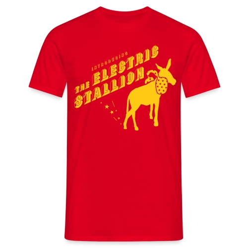 The Electric Stallion - Sunglow - Men's T-Shirt