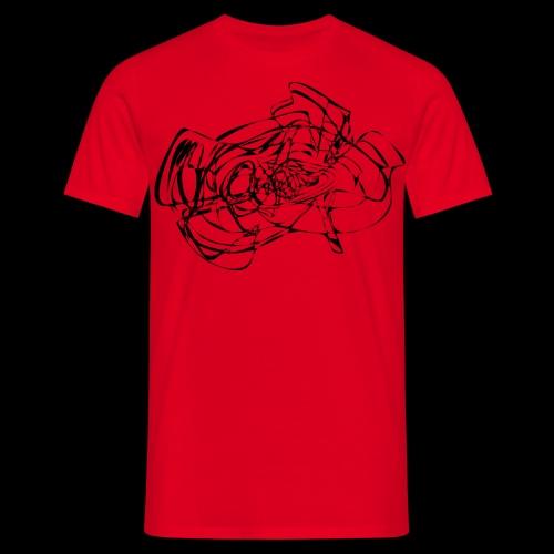 OSart6 spreadshrt mod 4rd - Männer T-Shirt