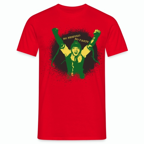 No Nespolo No Party - Maglietta da uomo