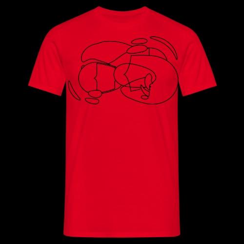 Osart7 spreadshrt mod a - Männer T-Shirt
