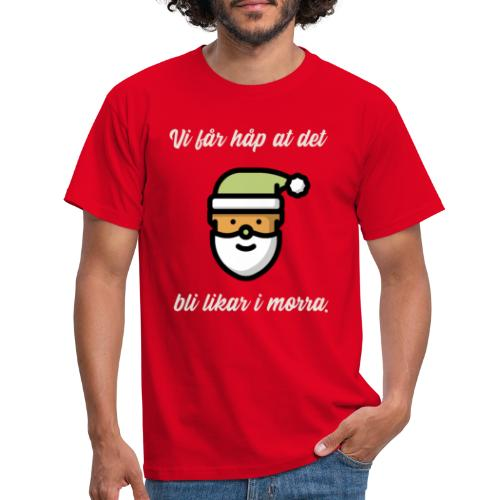 stygg julegenser - T-skjorte for menn