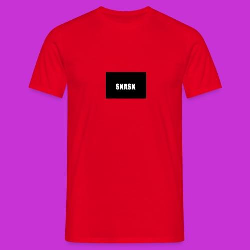 SNASK - T-shirt herr
