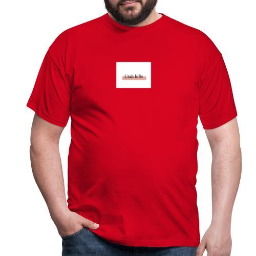 Utah hillss - Herre-T-shirt