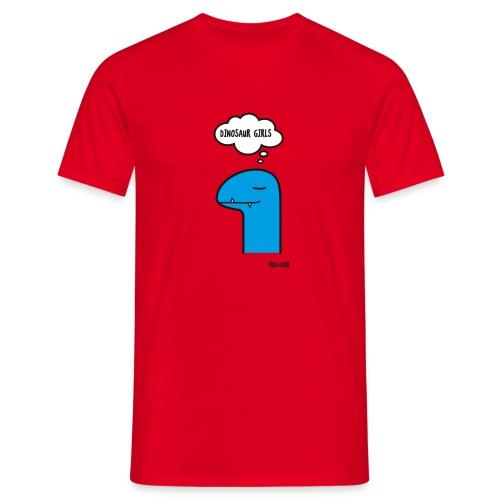 Fred Earl Dinosaur Girls - Männer T-Shirt