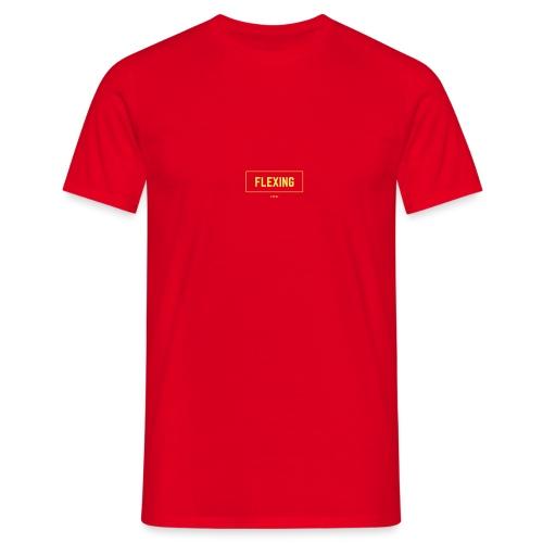 Flexing Box (YELLOW) - Maglietta da uomo