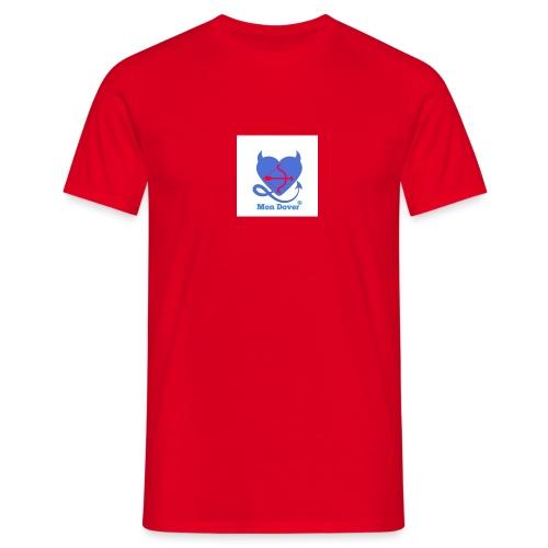 Logo Mon Dover - Maglietta da uomo