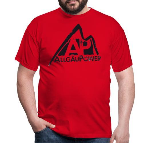 ALLGAEUPOWER LOGO 3 - Männer T-Shirt